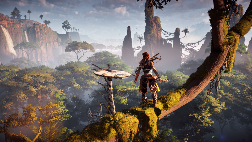 A picture of Horizon Zero Dawn