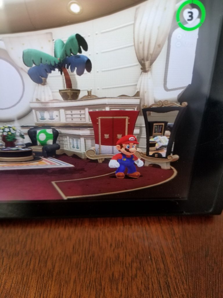 A picture of Mario Odyssey gameplay