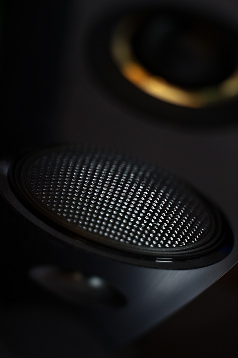 A picture of an audio grille is shown.