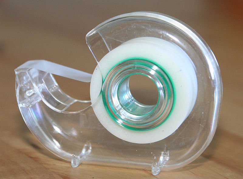 This is a picture of clear tape