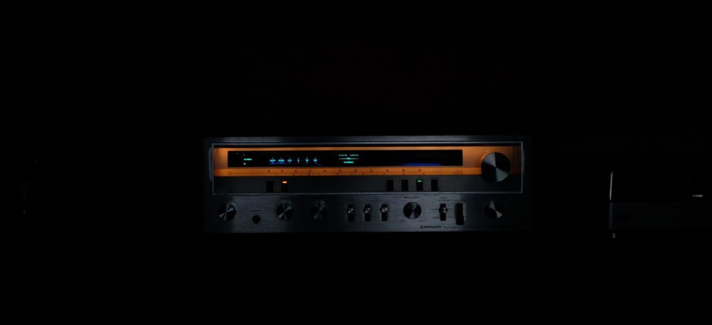 A picture of a home theater receiver