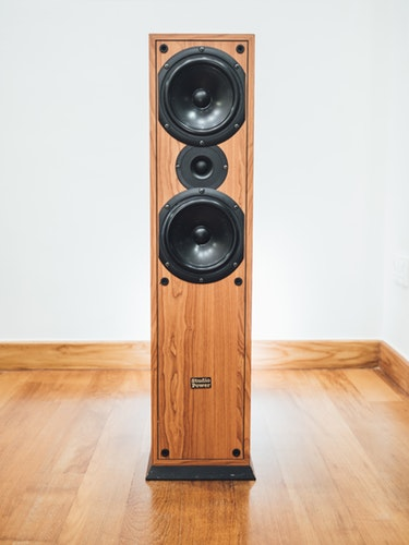 A picture of one of the best floor standing speakers of 2020