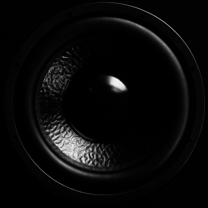 A picture of a subwoofer