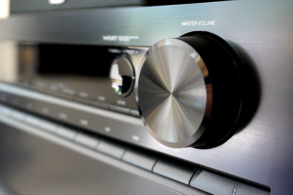 A picture of an AV receiver