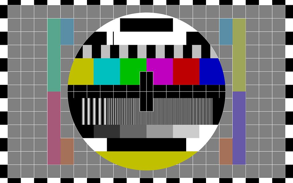 A calibration test pattern