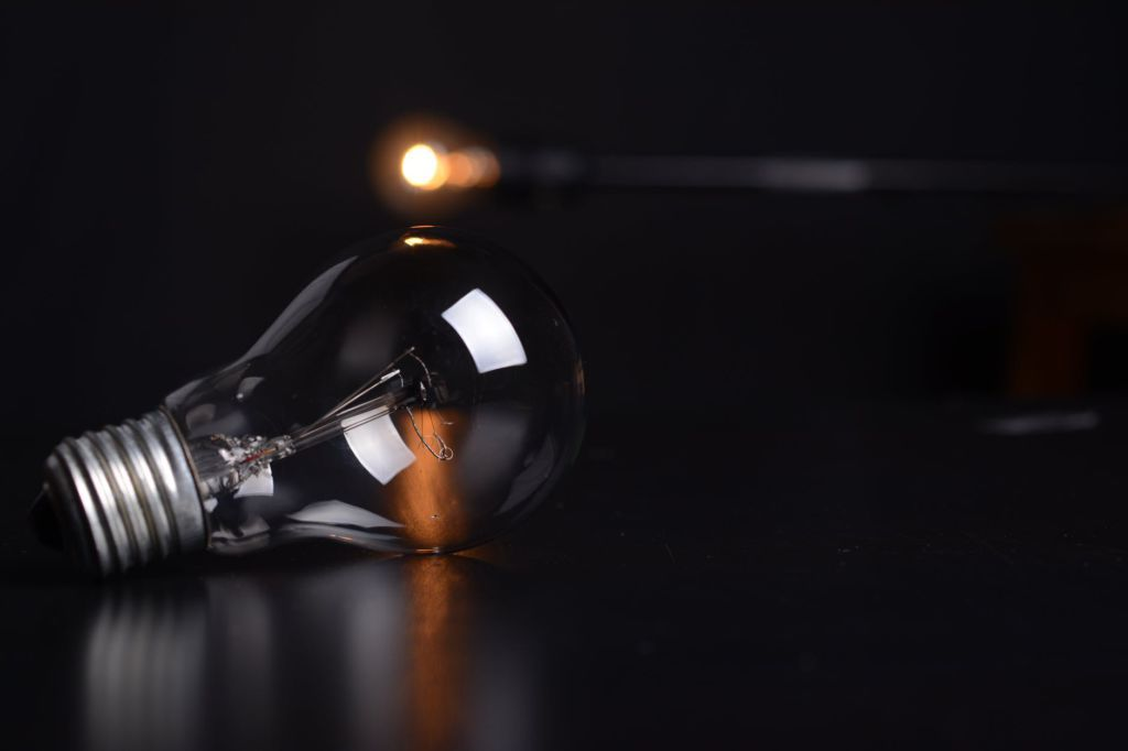 A picture of a light bulb