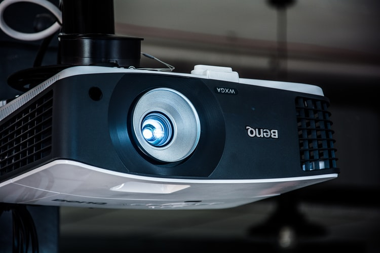 A picture of one of the best home theater projectors for 2020