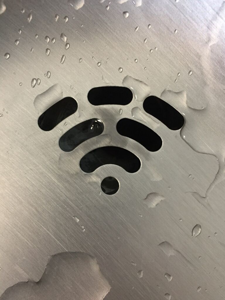 A picture of a Wifi symbol