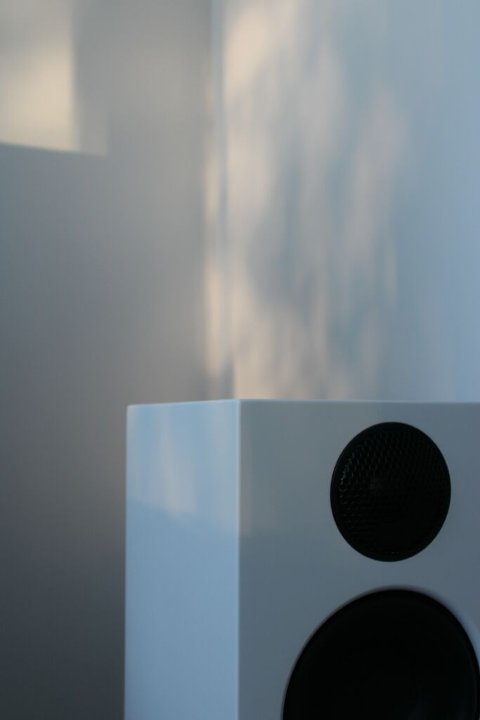 A picture of a wireless speaker